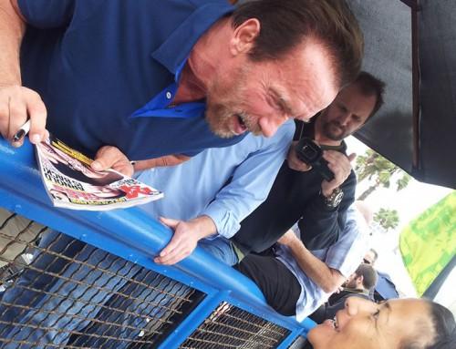 Hello, mr. Schwarzenegger