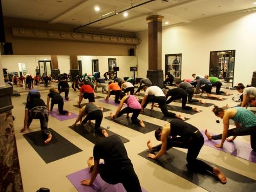 Stadswild yoga