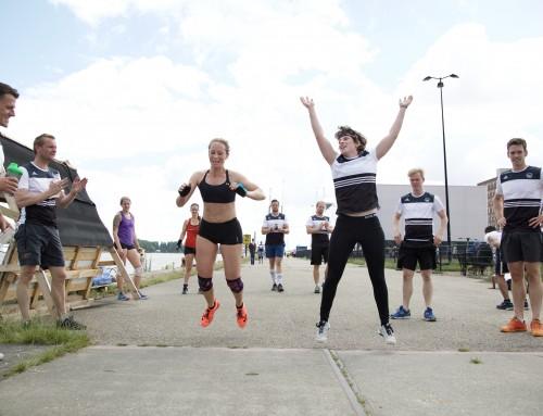 Workout voor de Burpee Mile Amsterdam 2017