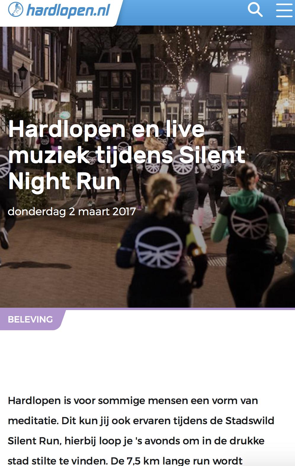 silent night run